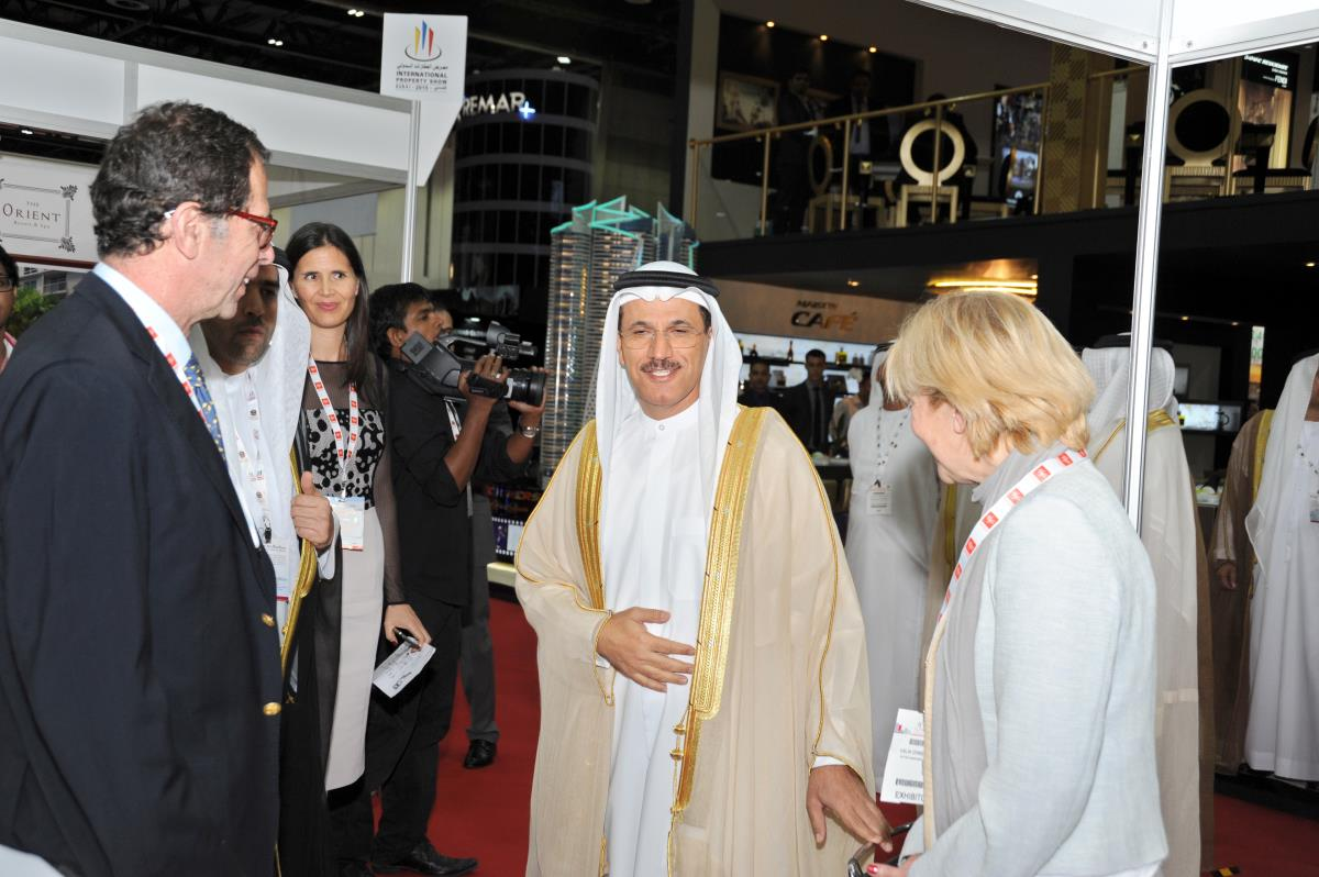 Honored by the presence of H.E. Sultan bin Saeed AlMansoori, Minister of Economy, U.A.E. at our stand in IPS Dubai